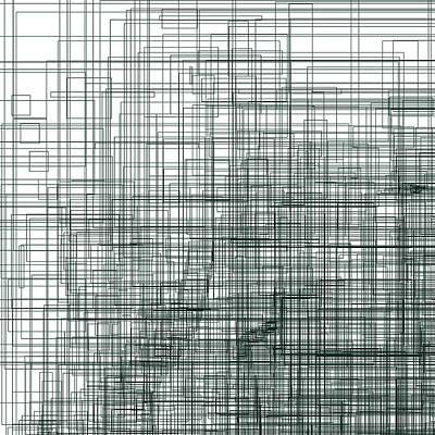 Black Background Digital Art - S.3.3 by Gareth Lewis