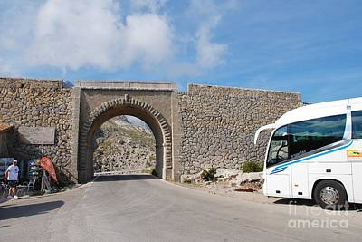 Photograph - Sa Calobra Viaduct In Majorca by David Fowler