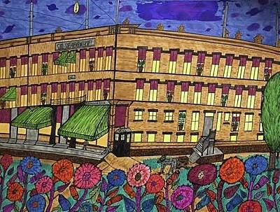 Communal Painting - S.m Stephenson Hotel by Jonathon Hansen
