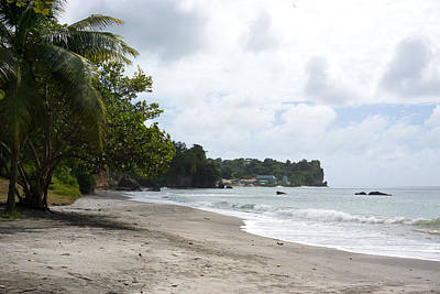 Photograph - Sab Wisha Beach In Saint Lucia by Daniel Jean-Baptiste