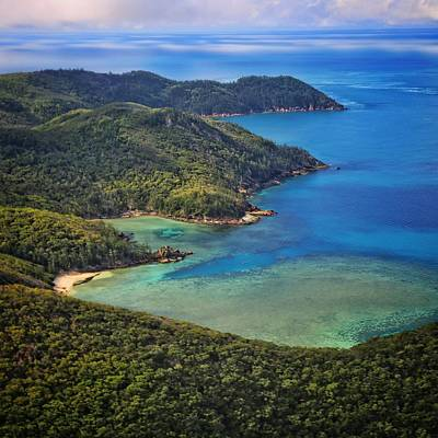 Photograph - Saba Bay And The Magical Wilderness Of Hook Island In The Whitsundays by Keiran Lusk