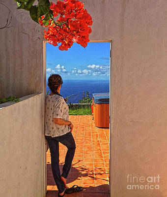 Photograph - Saba Sea View by Todd Breitling