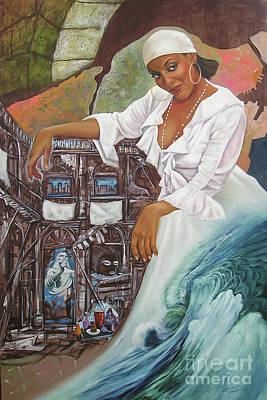 Painting - Sabanas Blancas by Jorge L Martinez Camilleri