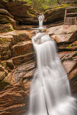 Photograph - Sabbaday Falls by Brenda Jacobs