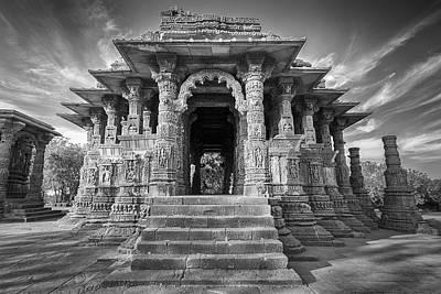 Photograph - Sabhamandapa, Modhera, 2008 by Hitendra SINKAR