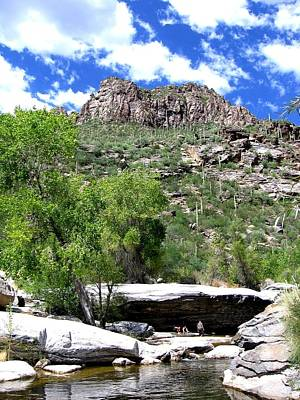 Photograph - Sabino Canyon by Michelle Dallocchio