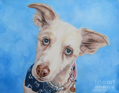 Ann Holder Painting - Only Have Eyes For You by Ann Holder