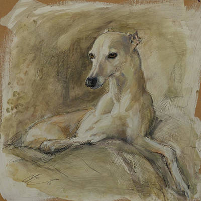 Wall Art - Painting - Sable by Claire Eastgate