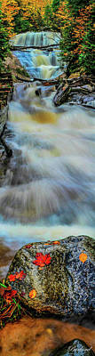 Photograph - Sable Falls by Burland McCormick