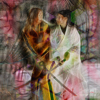 Digital Art - Sabre Dance - Square Version by John Beck