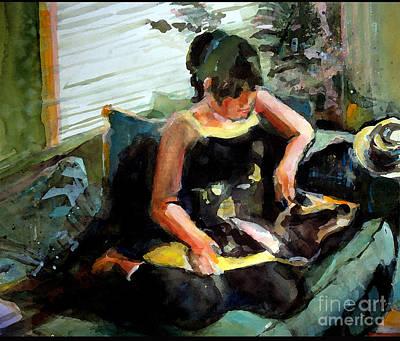 Painting - Sabreen In Summer by Pauline Hauder