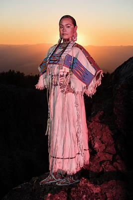 Sacagawea Photograph - Sacagawea by Christian Heeb