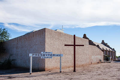 Photograph - Sacaton First Presbyterian Church by Edward Peterson