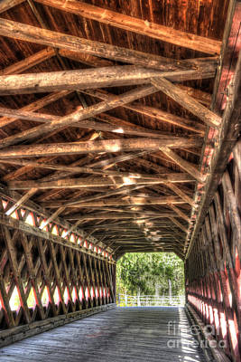 Photograph - Sachs Bridge - Gettysburg - Hdr by Paul W Faust - Impressions of Light