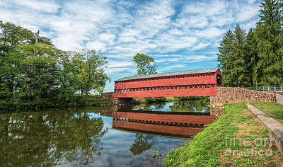 Photograph - Sachs Covered Bridge by Craig Leaper