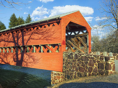 Photograph - Sachs Covered Bridge IIi by Marianne Campolongo