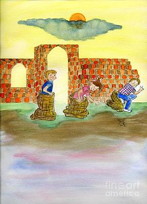 Sack Races Original by Puente