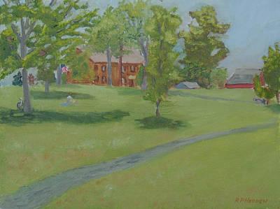 Sackets Harbor Battlefield-high Noon Art Print