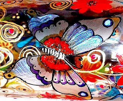Sackettdoodles Art Photograph - Sackettdoodles Butterfly by Deborah jordan Sackett