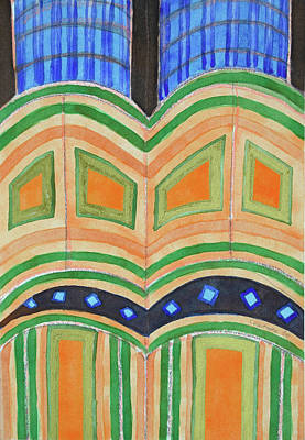 Sacral Painting - Sacral Architecture by Heidi Capitaine