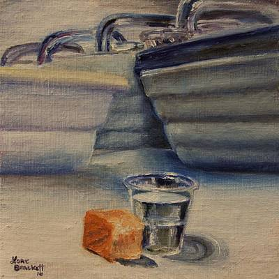 Painting - Sacrament by Lori Brackett