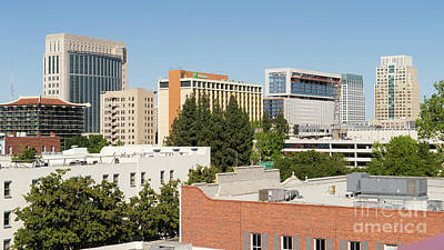 Photograph - Sacramento California Skyline Dsc4964 by Wingsdomain Art and Photography