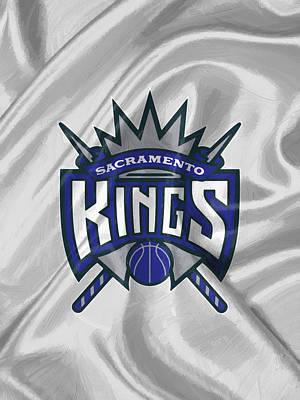 Uniforms Digital Art - Sacramento Kings by Afterdarkness