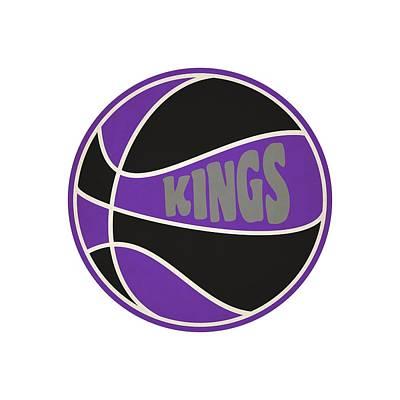 Sacramento Photograph - Sacramento Kings Retro Shirt by Joe Hamilton
