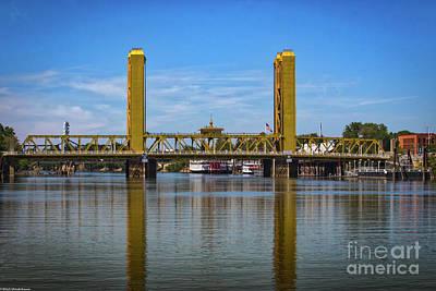 Photograph - Sacramento River by Mitch Shindelbower