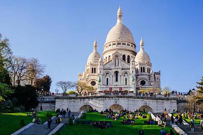 Sacre Coeur Photograph - Sacre Coeur Basilica by Pati Photography