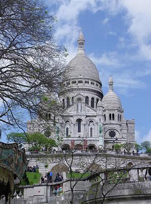 Photograph - Sacre Coeur Basilica by Sarah Lamoureux