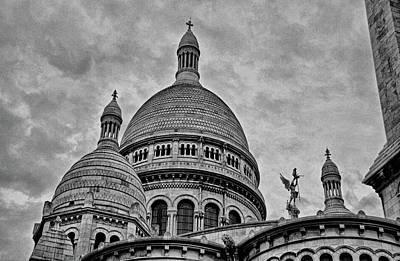 Photograph - Sacre-coeur Basilica Study 2 by Robert Meyers-Lussier