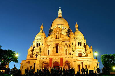 Photograph - Sacre Coeur Cathedral  by Songquan Deng