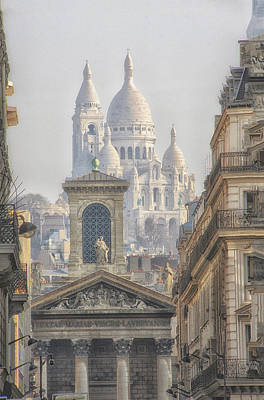 Photograph - Sacre-coeur  by Catherine Alfidi