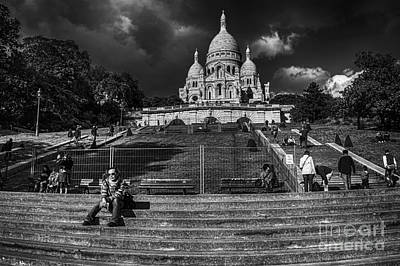 Photograph - Sacre-coeur by Charuhas Images