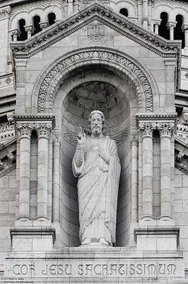 Photograph - Sacre Coeur Close-up - 2 by Hany J