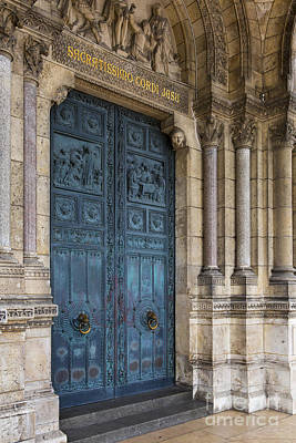 Photograph - Sacre Coeur Door by Brian Jannsen
