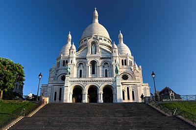 Sacre Coeur Photograph - Sacre Coeur Montmartre Paris by Pierre Leclerc Photography