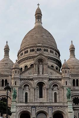 Photograph - Sacre Coeur Of Paris - 2 by Hany J