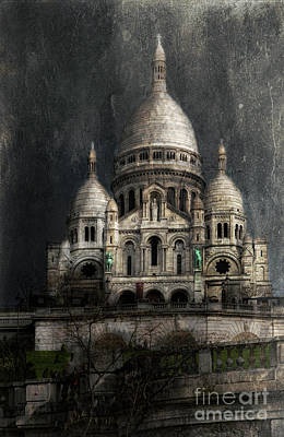 Photograph - Sacre-coeur, Paris by Elena Nosyreva