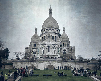 Sacre Coeur Photograph - Sacre Coeur Paris II by Joan Carroll