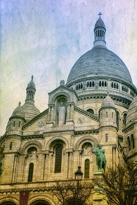 Sacre Coeur Photograph - Sacre Coeur Paris by Joan Carroll