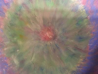 Inner World Painting - Sacred Center by Arna Vodenos