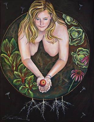 Sacred Circle 1 Art Print by Sheri Howe