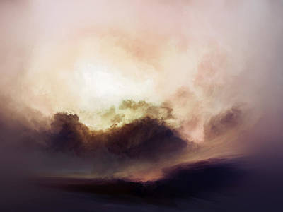 Abstract Landscape Royalty-Free and Rights-Managed Images - Sacred Dawn by Lonnie Christopher