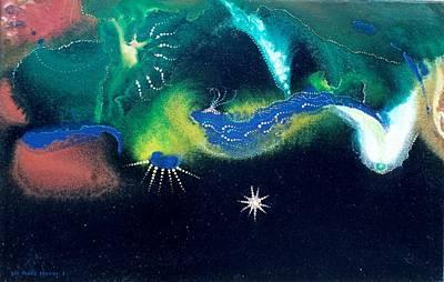 Sacred Dawn Art Print by Lee Pantas