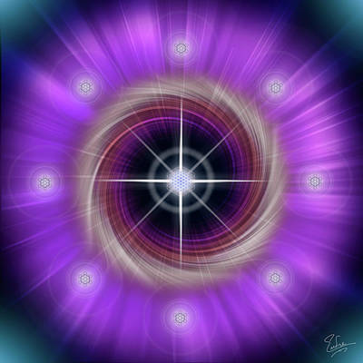 Digital Art - Sacred Geometry 288 by Endre Balogh
