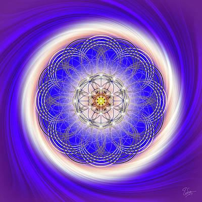Digital Art - Sacred Geometry 290 by Endre Balogh