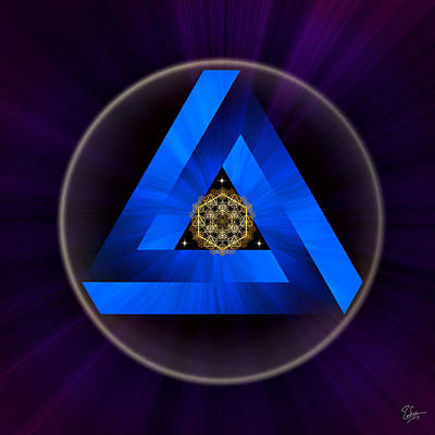 Photograph - Sacred Geometry 390 by Endre Balogh
