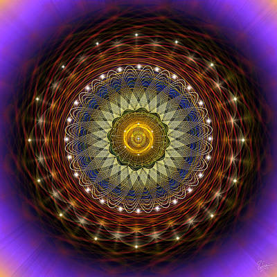 Photograph - Sacred Geometry 433 by Endre Balogh